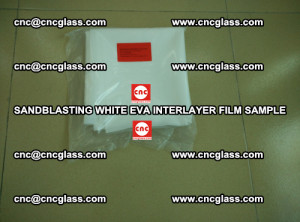 Sandblasting White EVA INTERLAYER FILM sample, EVAVISION (7)