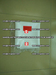 Sandblasting White EVA INTERLAYER FILM sample, EVAVISION (70)