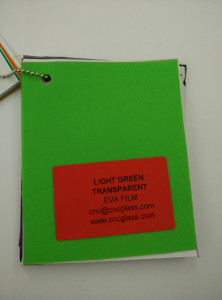 Light Green EVAVISION transparent EVA interlayer film for laminated safety glass (47)
