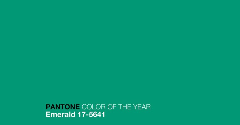 Pantone 2013 Color of the Year ~ Emerald Green 17-5641