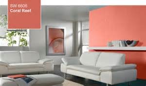 2015 Sherwin Williams Color of the Year Coral Reef