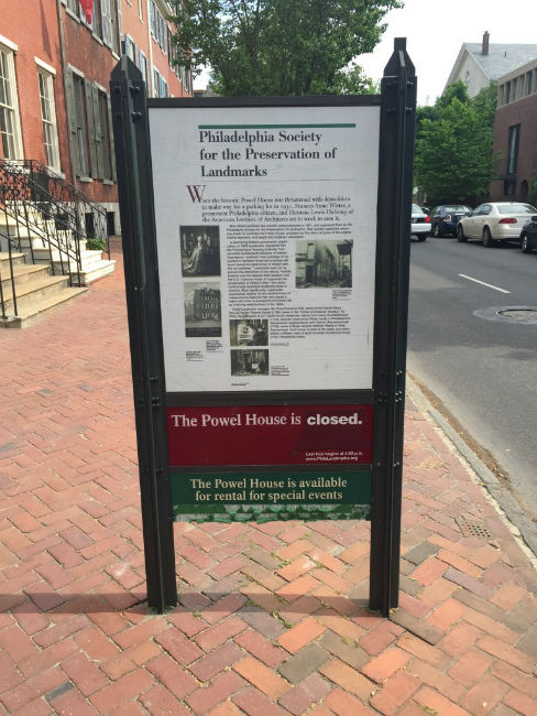 The Powel House ~ Historic Home in Philadelphia