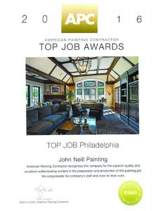 APC Top Job Award Philadelphia 2016