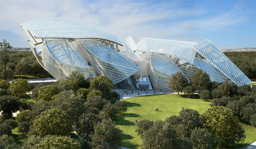Frank Gehry Fondation Louis Vuitton Paris Designboom 08