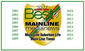Best Main Line PA Painting Company 14 Years in a Row!