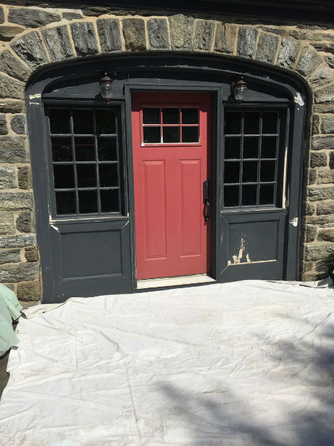 Carriage House Restoration Project in Chestnut Hill, PA