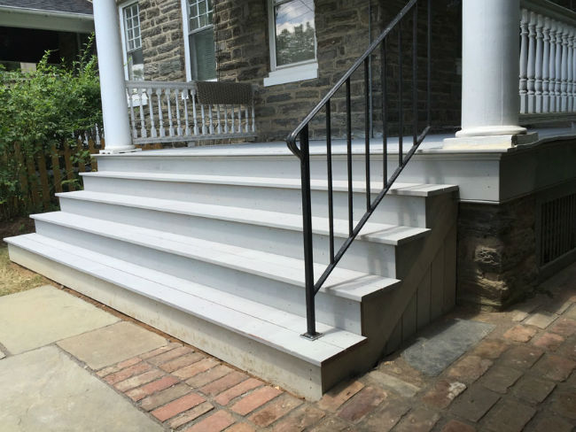 Stairs Painting in Philadelphia & The Main Line by John Neill Painting
