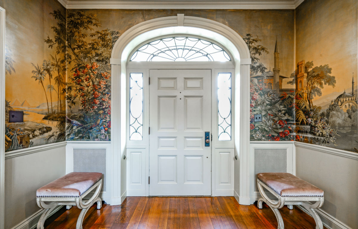 Stunning entry way by John Neill Painting and Decorating of Philadelphia