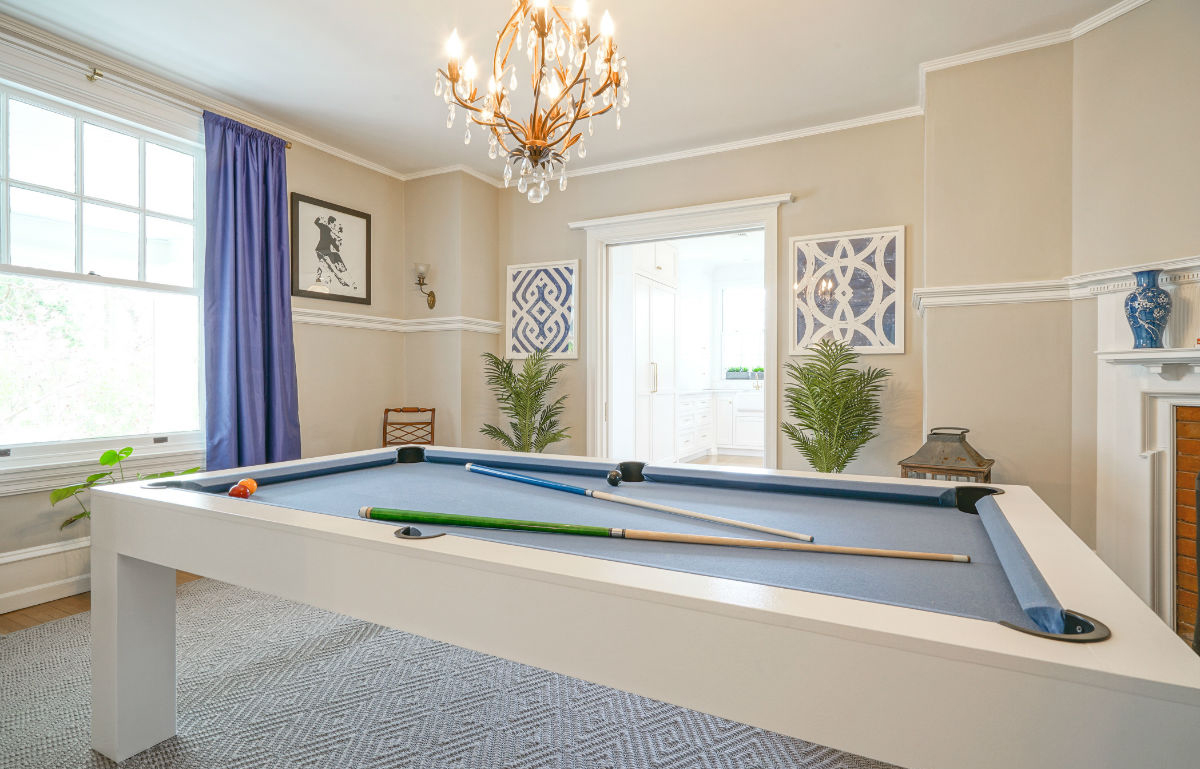 High end game room by John Neill Painting and Decorating of Philadelphia