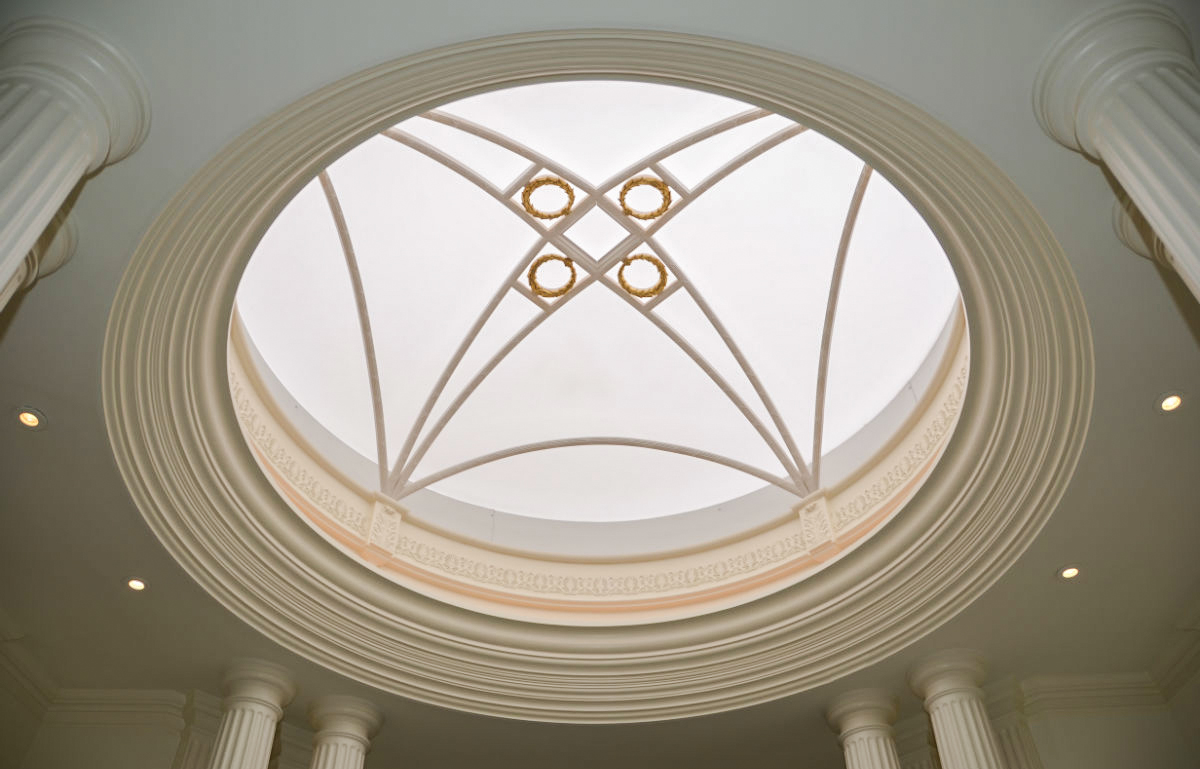 Dome detail work by John Neill Painting & Decorating