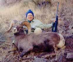 Diane George AZ 1999 Rifle Bighorn Sheep