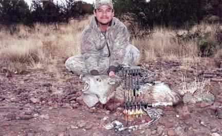 Joe-Padilla NM Javelina archery