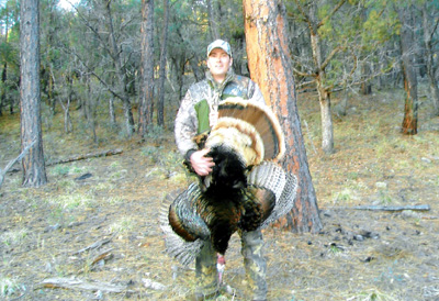 Robert Branham SC Gila Merriams turkey