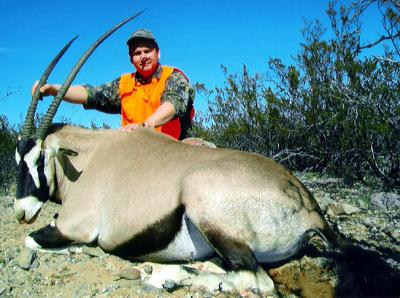 scott smith AR white sands missle range 37 cow oryx