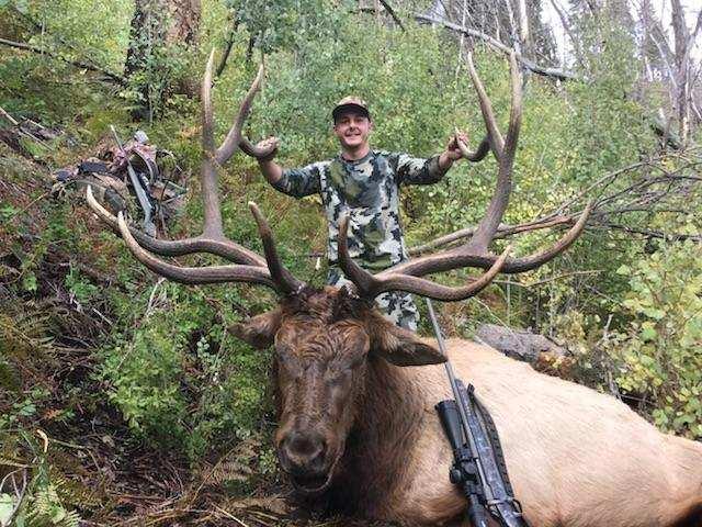 Lyndon Miller, IN - 348 Rifle Bull