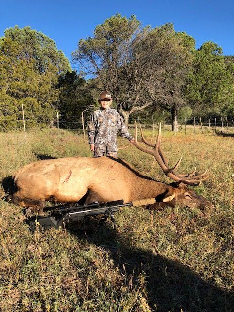 Zac Martensen, SD - Youth Bull Elk