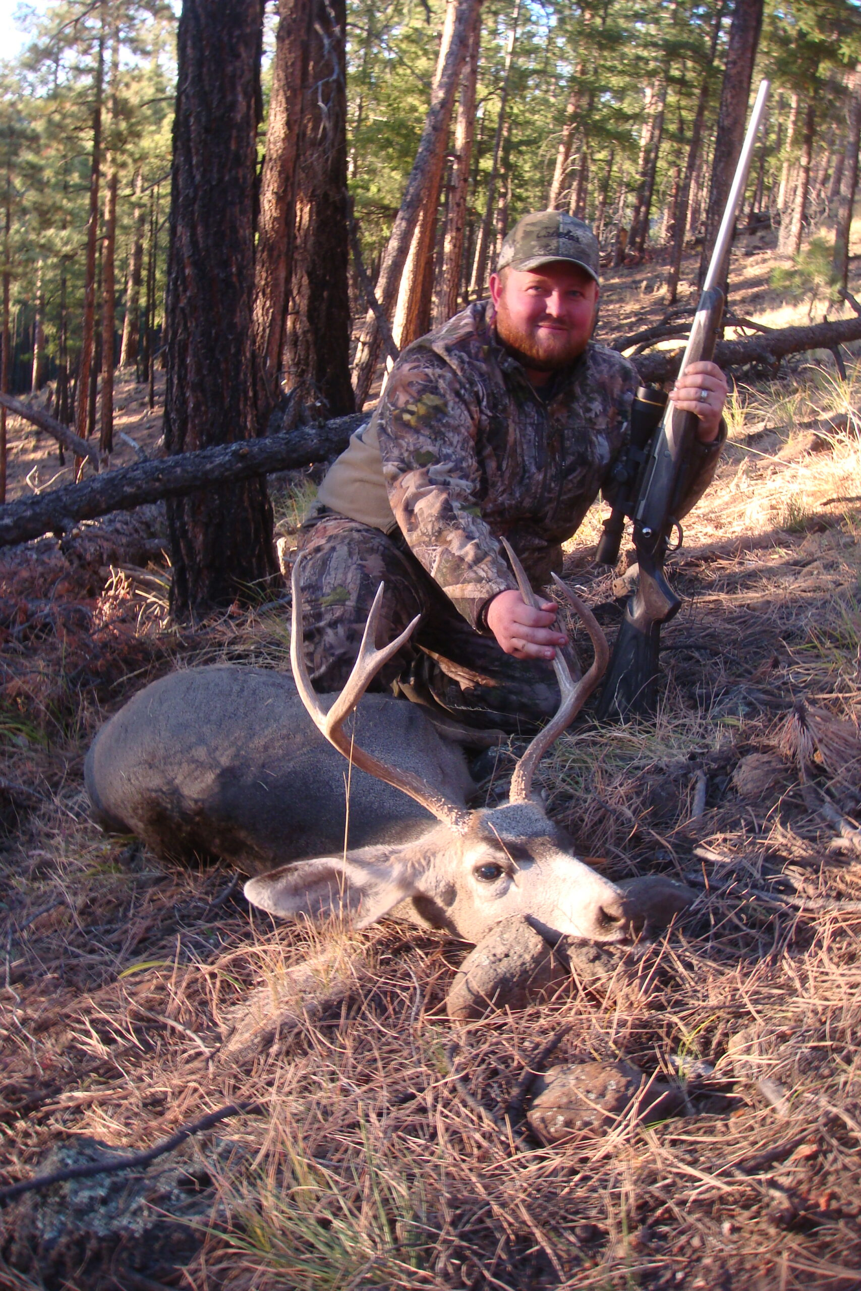 Chance Powell, TX. 3x3 Rifle Mule Deer