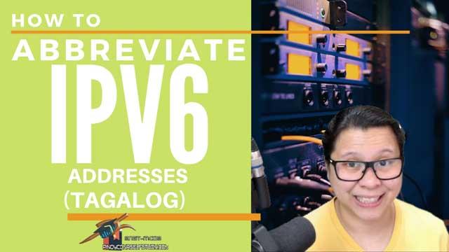 How to Abbreviate IPv6 Addresses