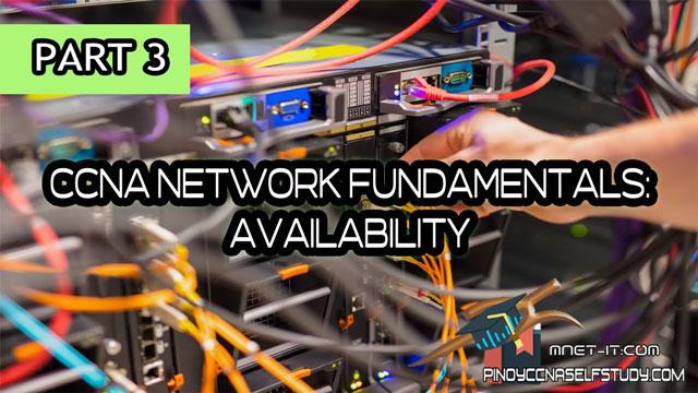 CCNA Network Fundamentals - Availability
