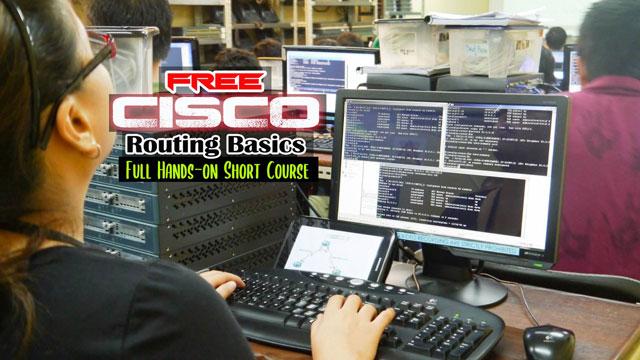 Cisco Routing Basics FREE course