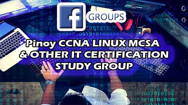 Facebook CCNA Study Group