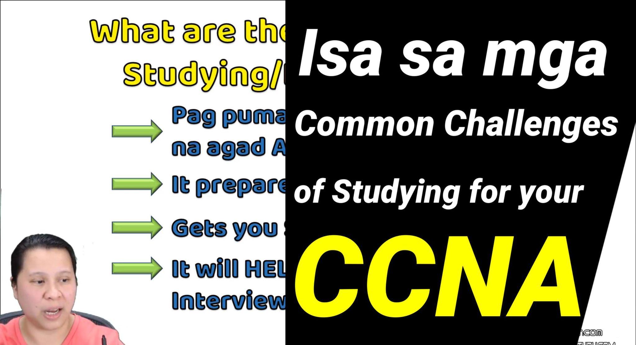 Paano mag deal sa mga Nega in your CCNA Study Free CCNA