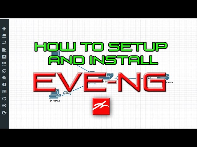 How to Install and Setup EVE-NG from Scratch (Tagalog)