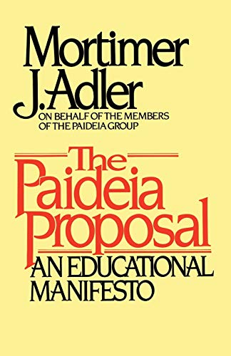 The Paideia Proposal