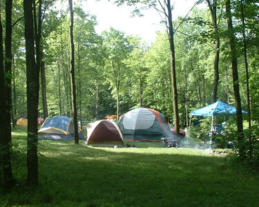 Primitive Tent Camping at Breakneck Campground