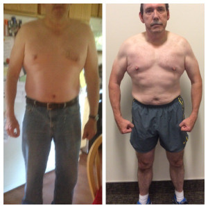 Before - 253lb After - 222lb Duration - 6-months