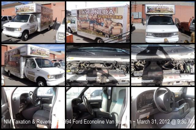NM Taxation & Revenue 1994 Ford Econoline Van