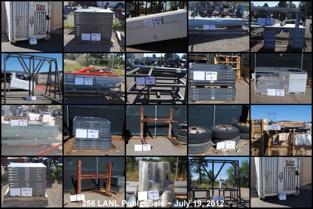 256 LANL Public Sale ~ July 19, 2012 @ 1200 PM