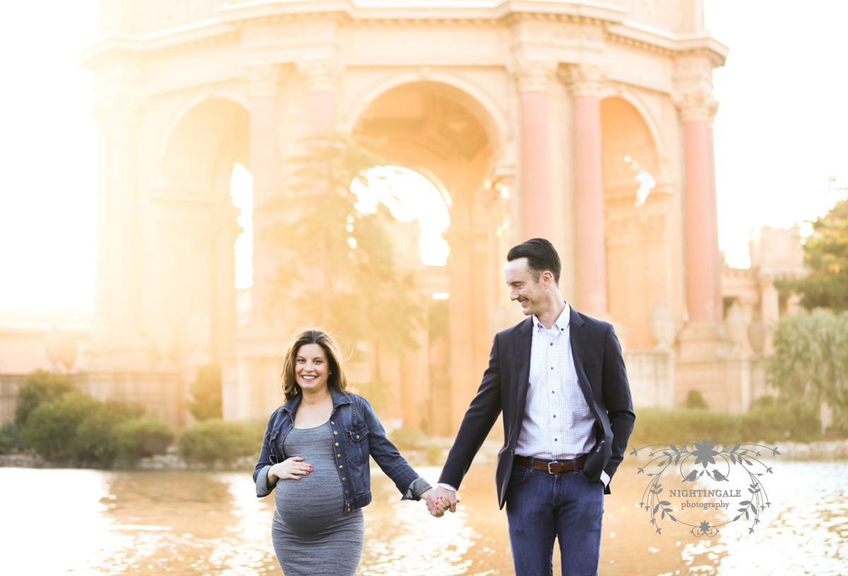 Palace Fine Arts Maternity Session