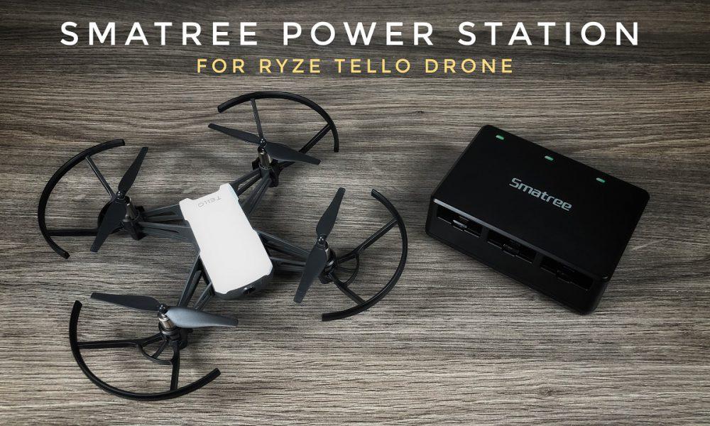 Smatree Portable Power Station For Ryze Tello Drone