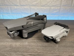 DJI Mavic Mini compared to the Mavic 2 Pro