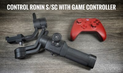 How to control your Ronin S or Ronin SC with A game Controller.