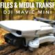 DJI Mavic Mini Cache Files Explained. How To Transfer Media.