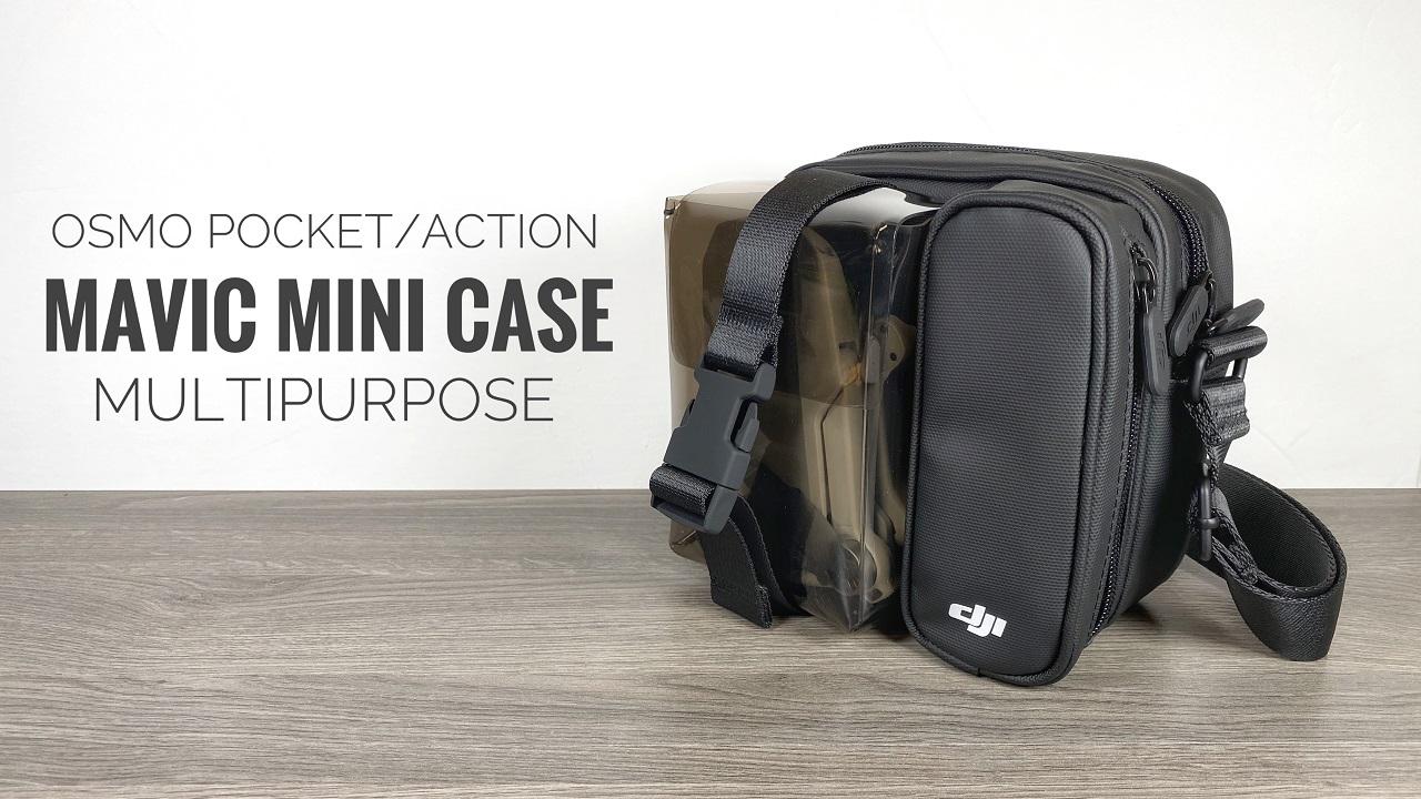 DJI Mavic Mini Bag Review and Demonstration.