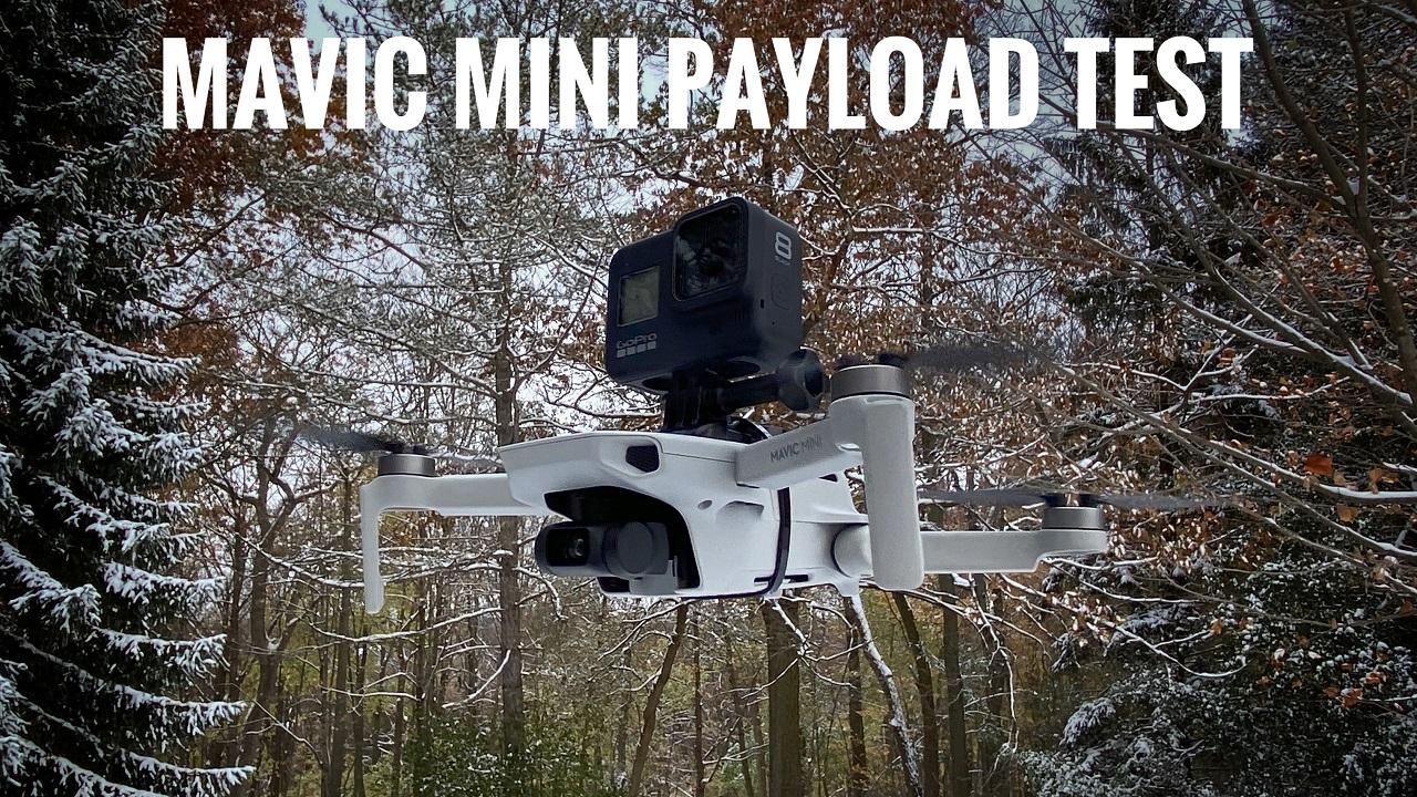 DJI Mavic Mini Capacity Test. Will It Carry A GoPro.