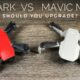 Comparing the DJI Mavic Mini to the DJI Spark.