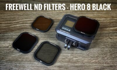 Freewell gear ND filters for the GoPro Hero 8 Black.