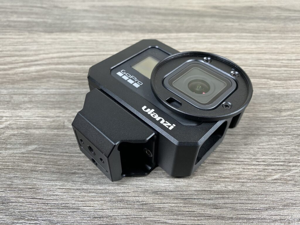 Ulanzi vlogging case for the Hero 8 Black.