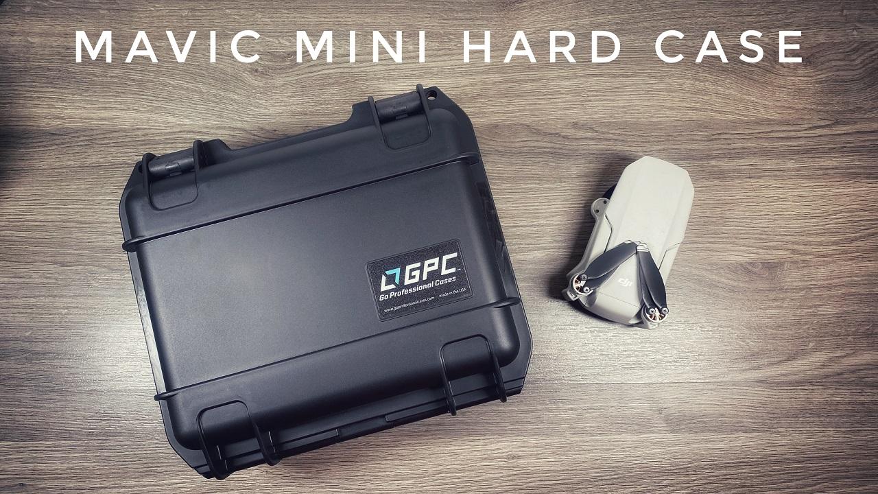 GPC hardshell case for the DJI Mavic Mini.