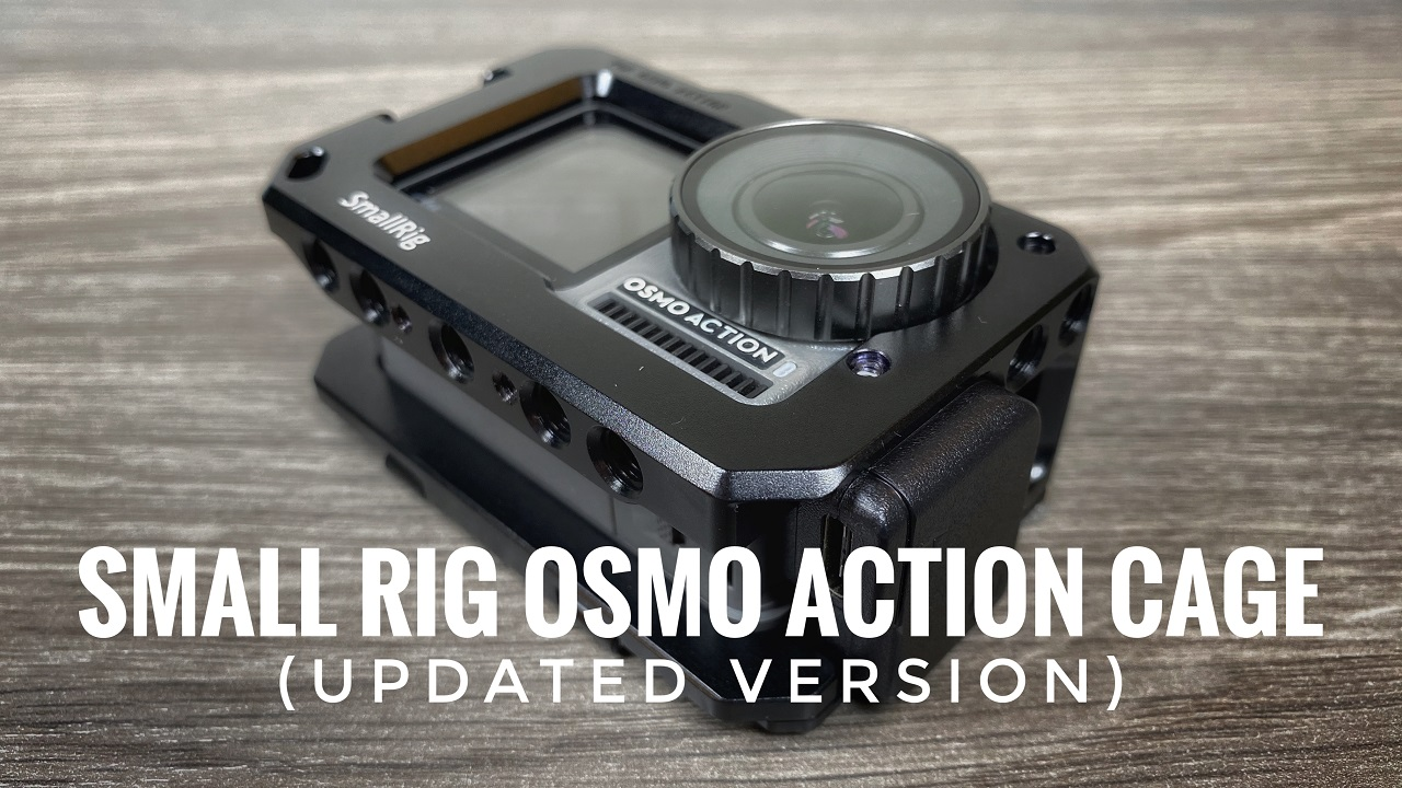 SmallRig updated vlogging cage for Osmo Action.