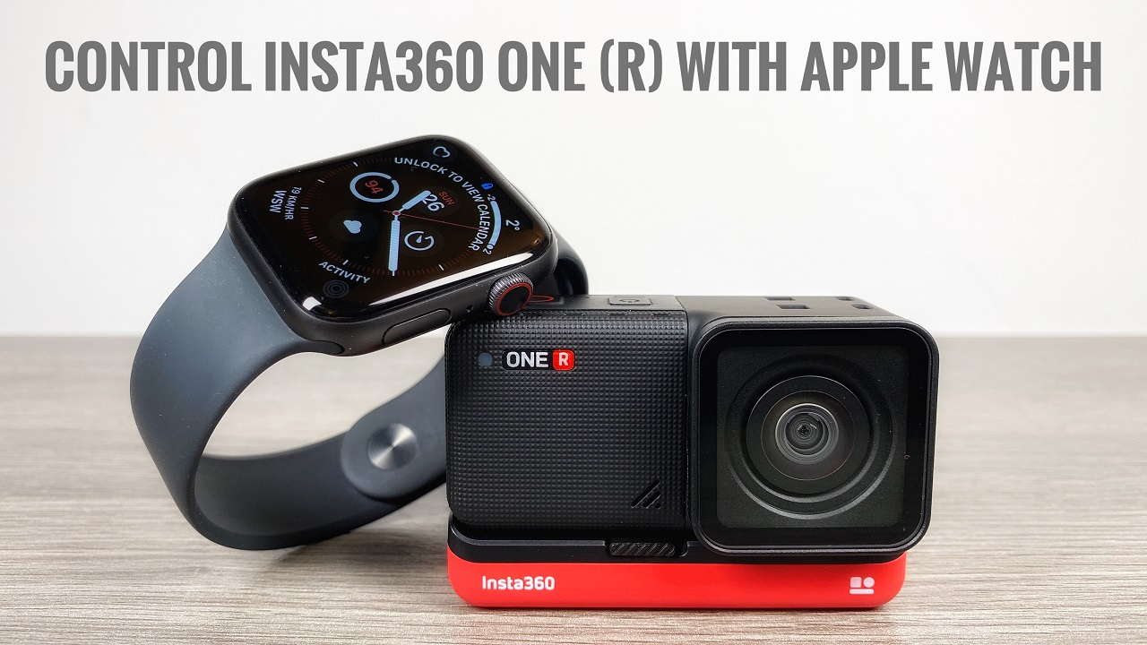 Insta360 Apple Watch app remote tutorial.