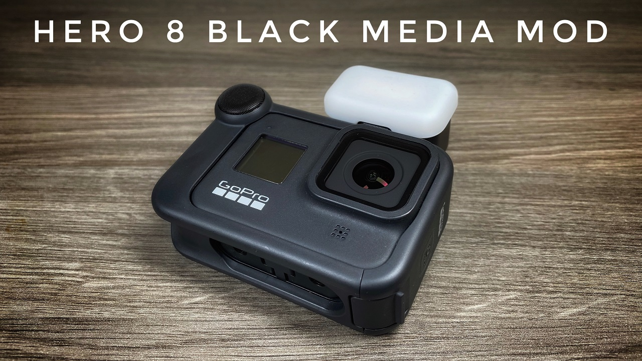 GoPro Hero 8 Black Media Mod and Light Mod Review.
