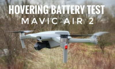 DJI Mavic Air 2 hovering battery test.
