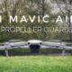 Test flight of the Mavic Air 2 propeller guards.