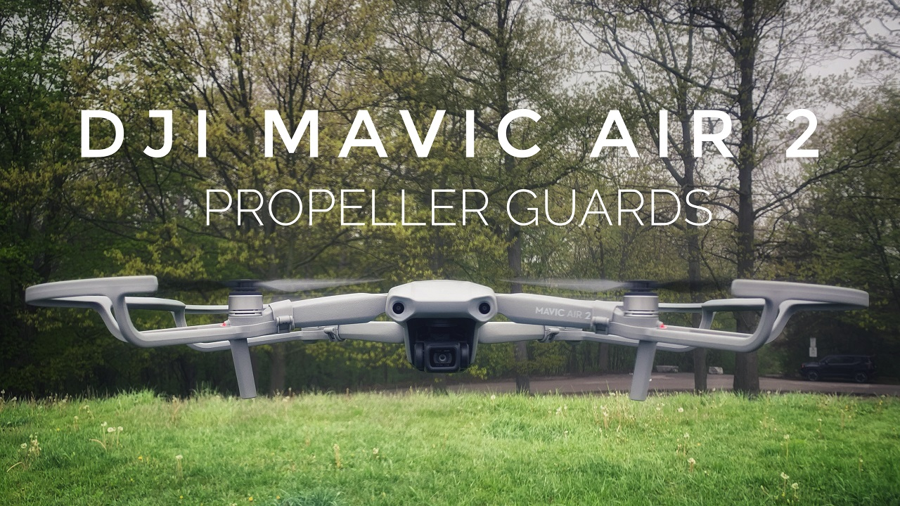 Test flight of the Mavic Air 2 propeller guards.