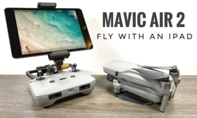 Fly the DJI Mavic Air 2 with an iPad.
